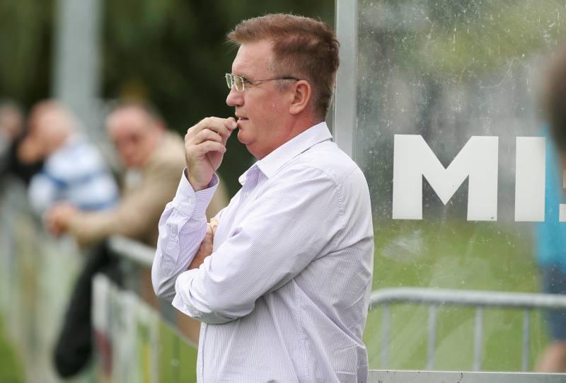 Vlado Nogic Trainer FC Kreuzlingen gegen FC Winkeln SG, FCK-Arena im Hafenareal Sportanlage Hafenfeld Kreuzlingen am Samstag 1. Oktober 2016 (FOTO GACCIOLI KREUZLINGEN)