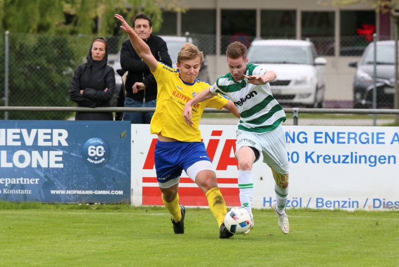Simon Affentranger im Trikot des FC Kreuzlingen