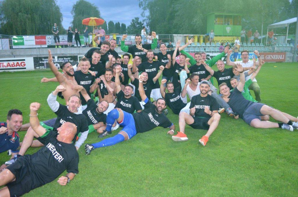 FC Kreuzlingen 2 steigt in die 3. Liga auf!