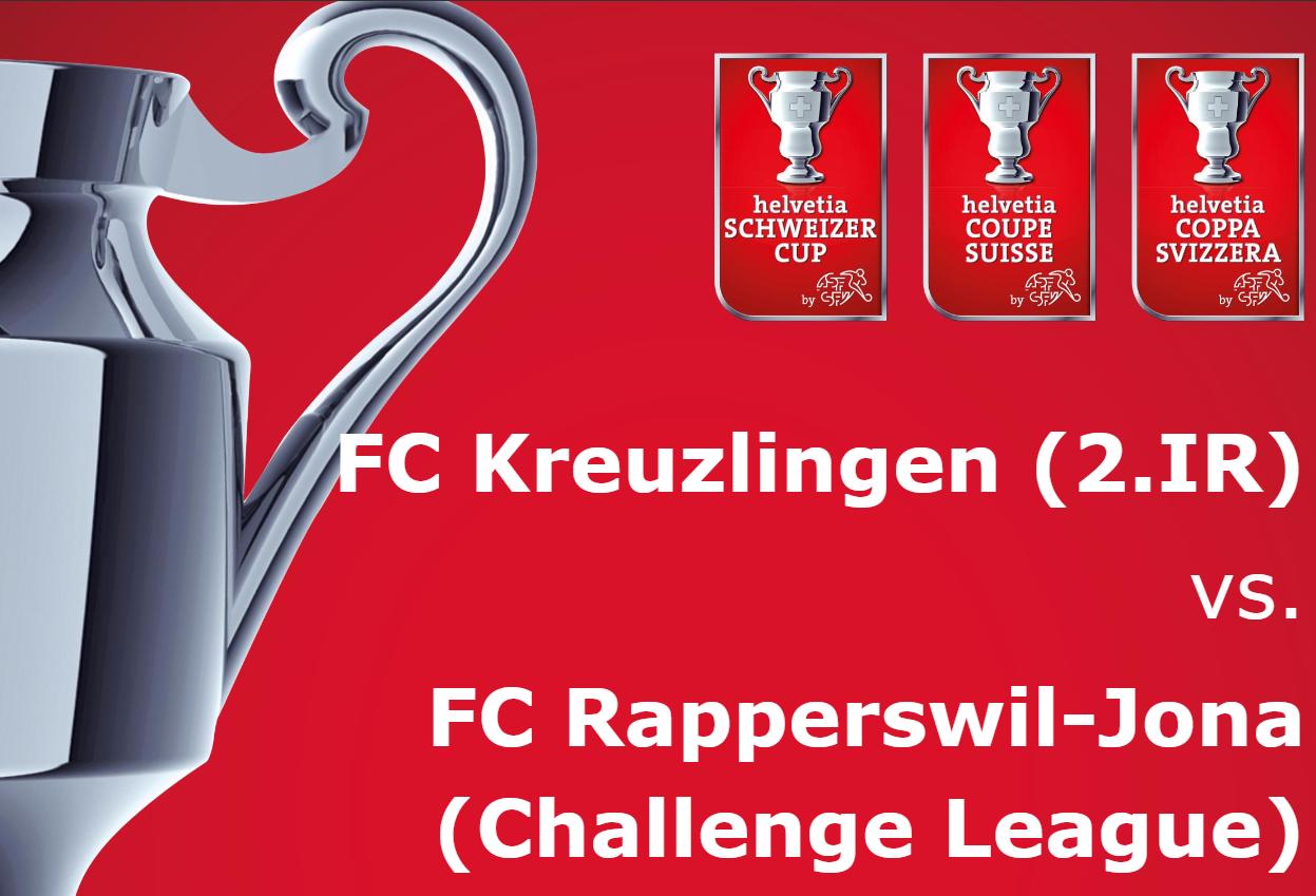 FC Kreuzlingen - FC Rapperswil-Jona