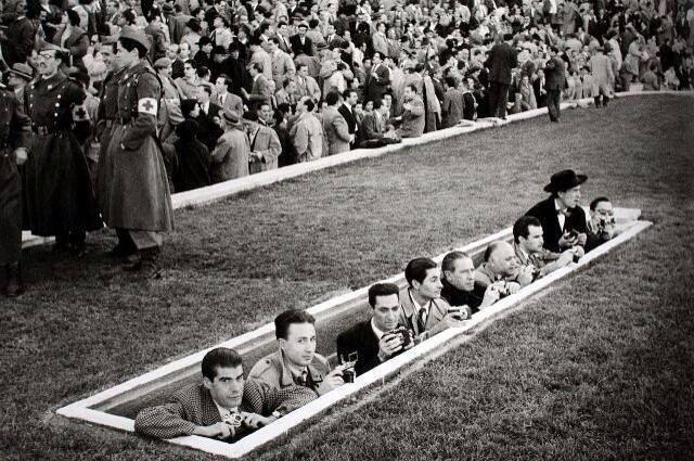 Fussball Presse 1954 Madrid