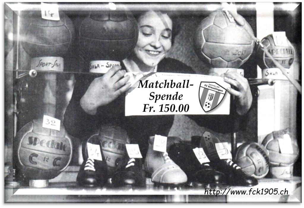 Matchballspende