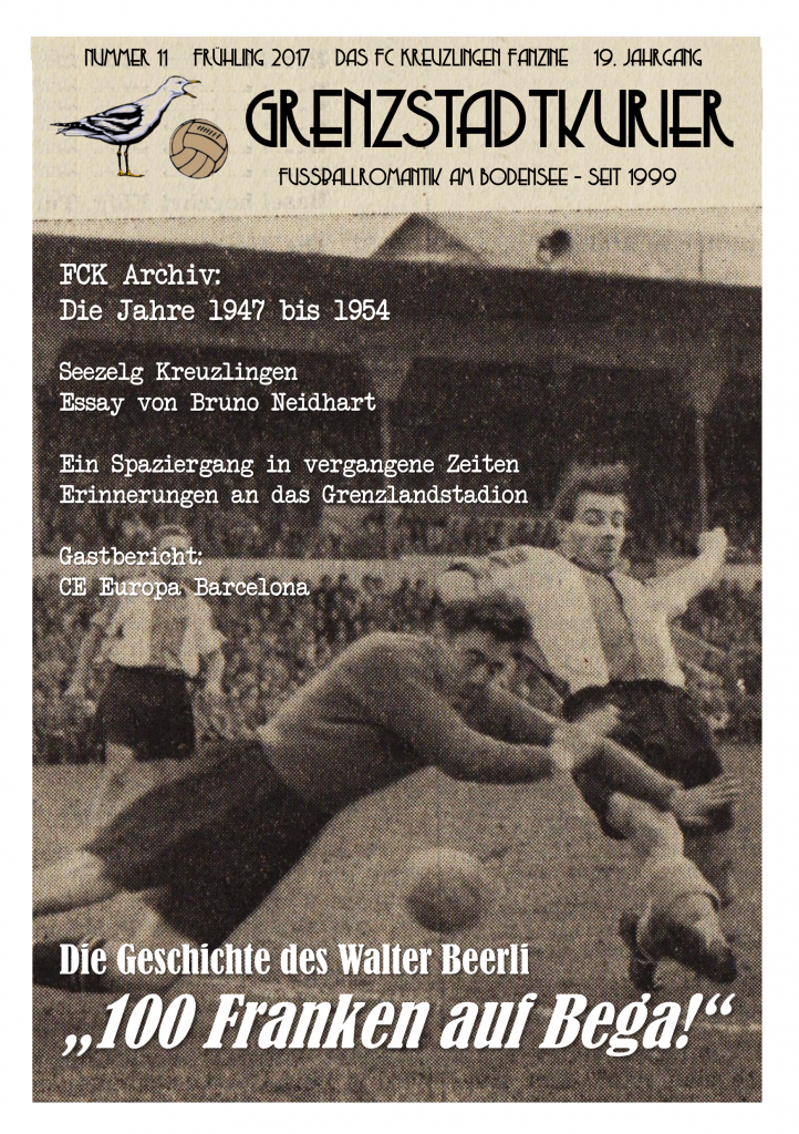 Grenzstadtkurier Nr. 11, FC Kreuzlingen - Fanzine seit 1999
