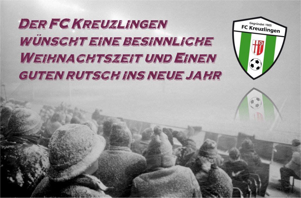 Der FC Kreuzlingen wünscht eine besinnliche Weihnachtszeit