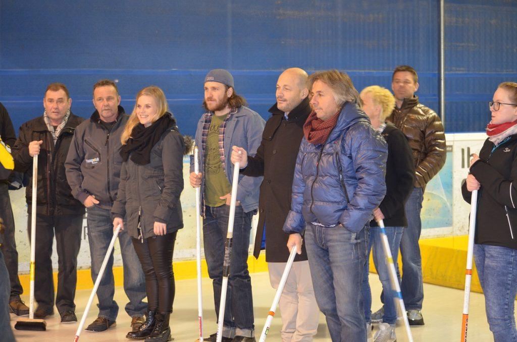 Donatoren FC Kreuzlingen beim Curling