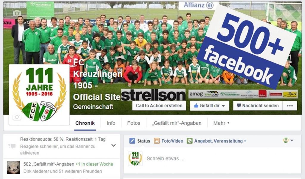 FCK-Facebook-Präsenz wächst kontinuierlich